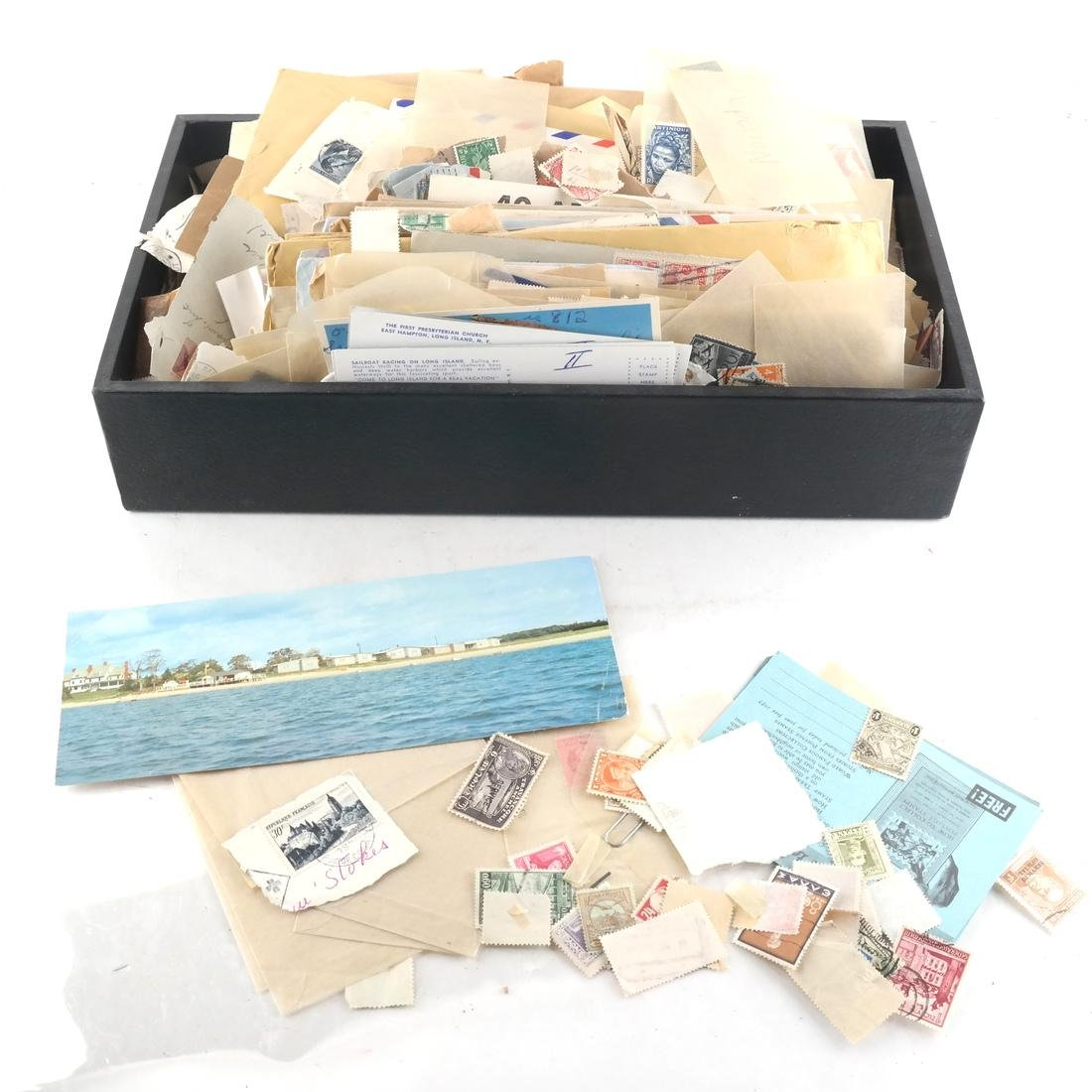 Lot of Stamps and Correspondence