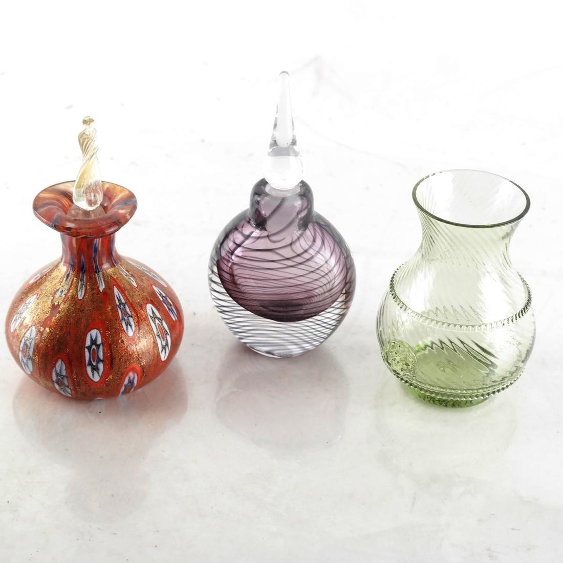 Nine Various Glass Vessels - 3