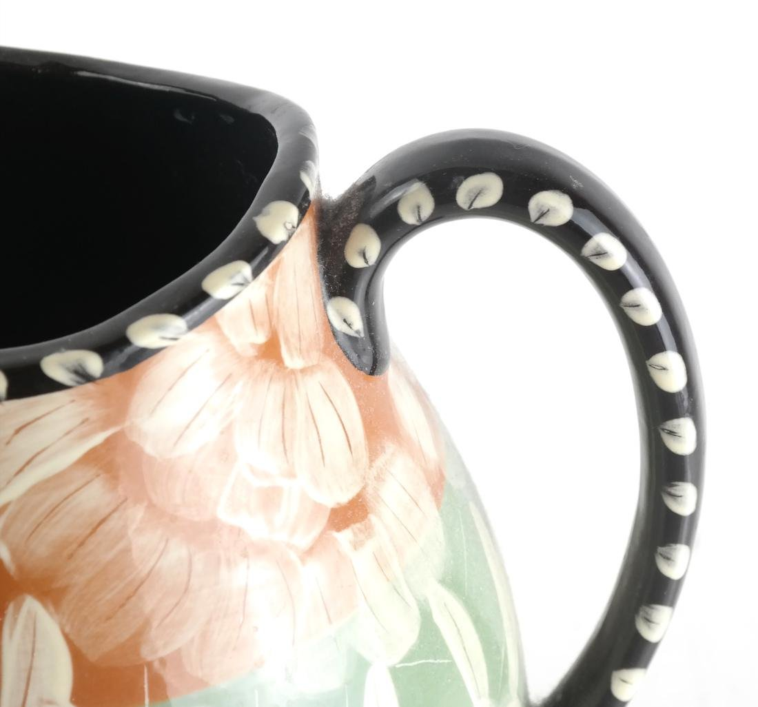 Decorated Glass Pitcher - 2