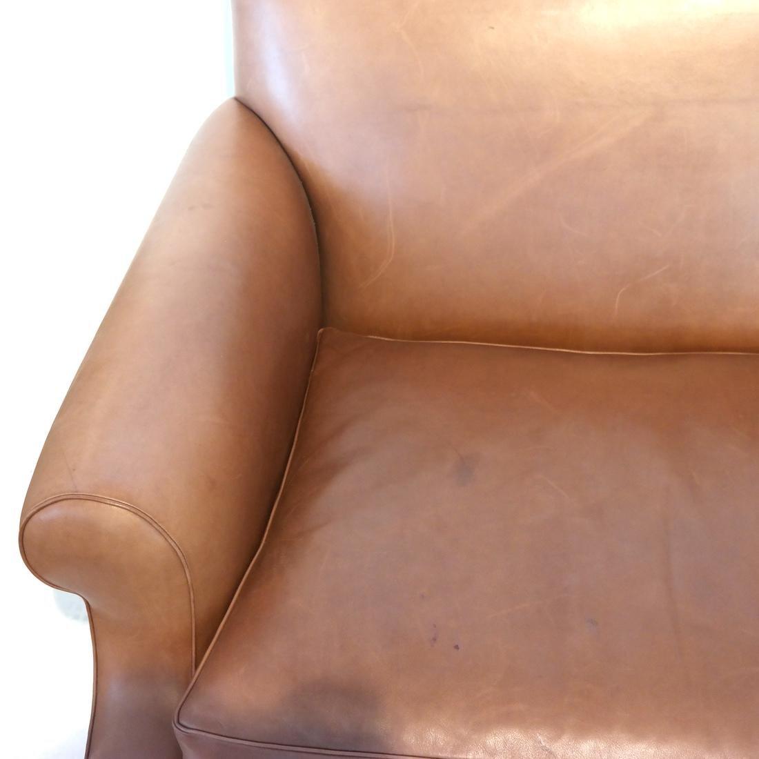 Ray Murray Leather Sofa - 4