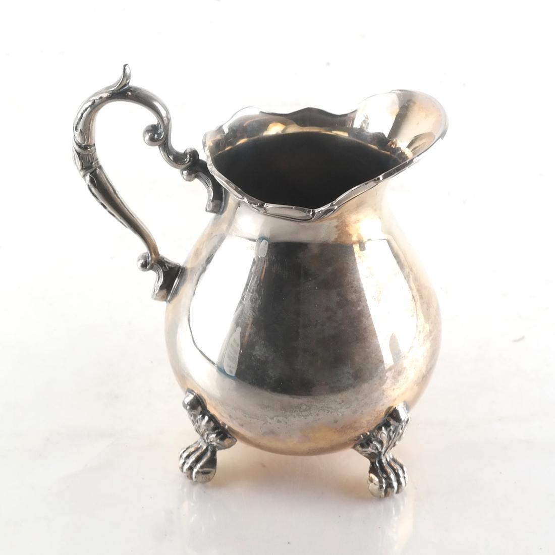 Sterling Silver English 5-Piece Tea Set - 6
