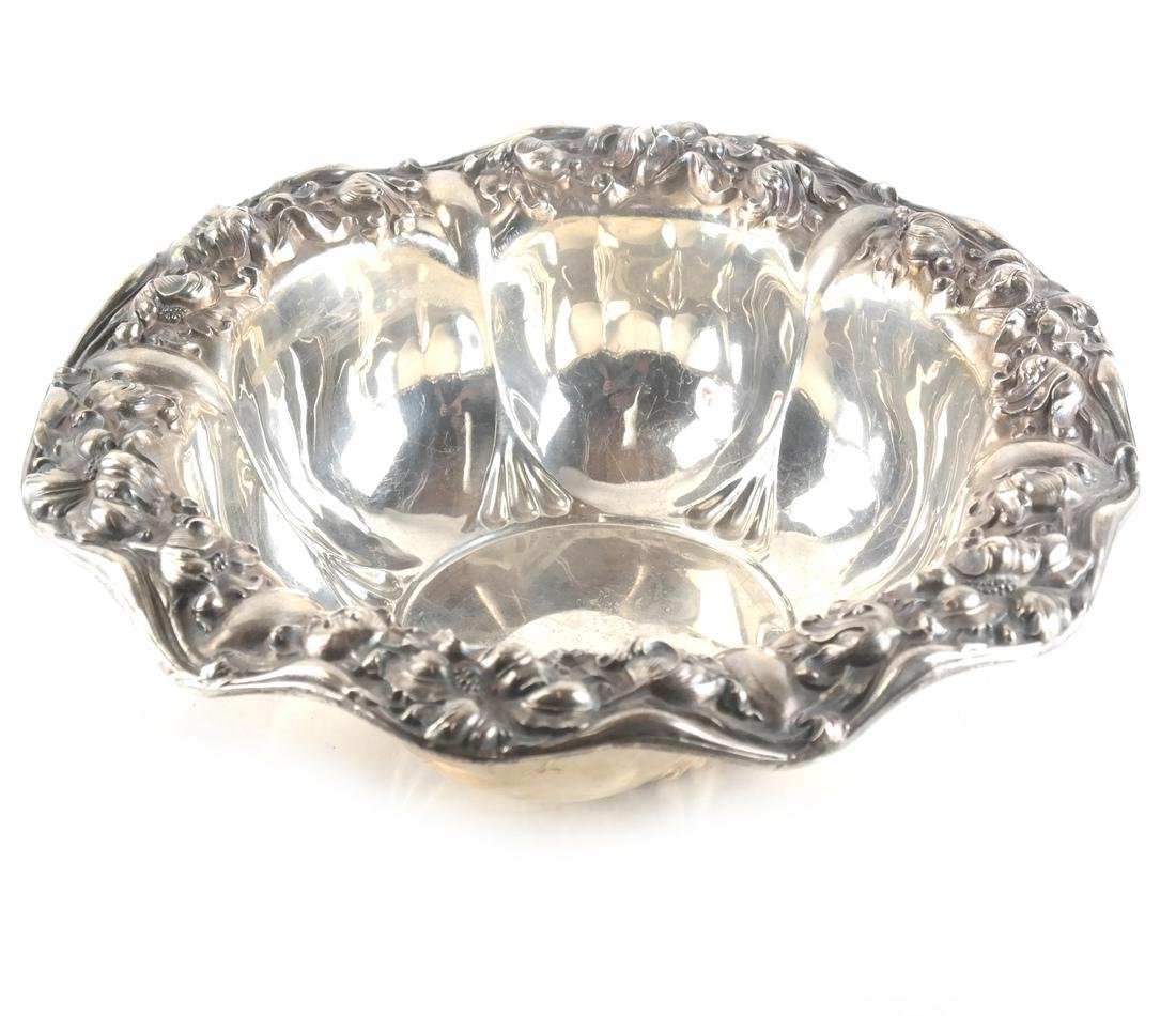 Sterling Silver Unger Bros. Repousse Bowl