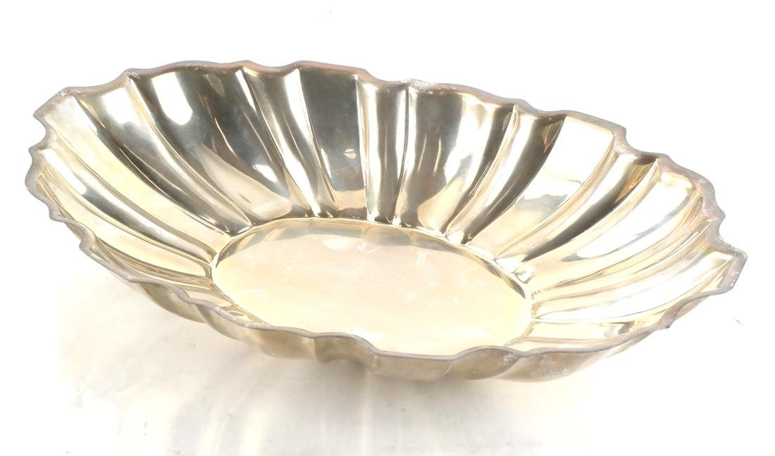 Sterling Silver Reed Form Bowl