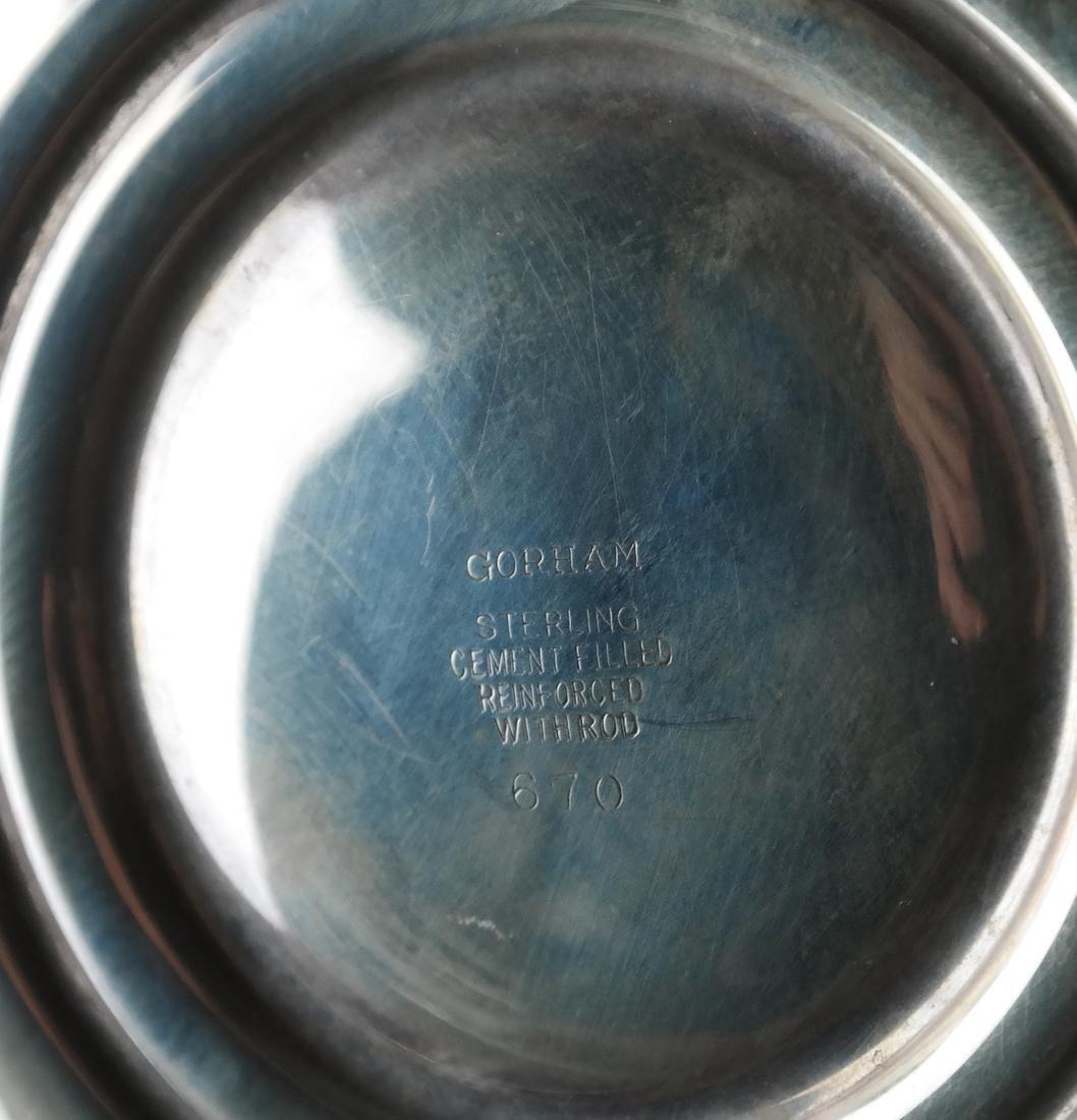 Gorham Sterling Weighted Candelabra - 5