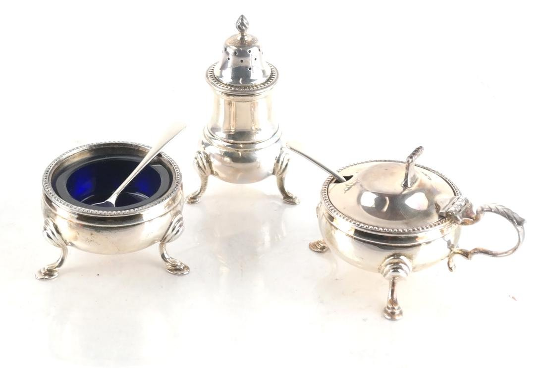 Sterling Silver Asprey Plc London Cruet