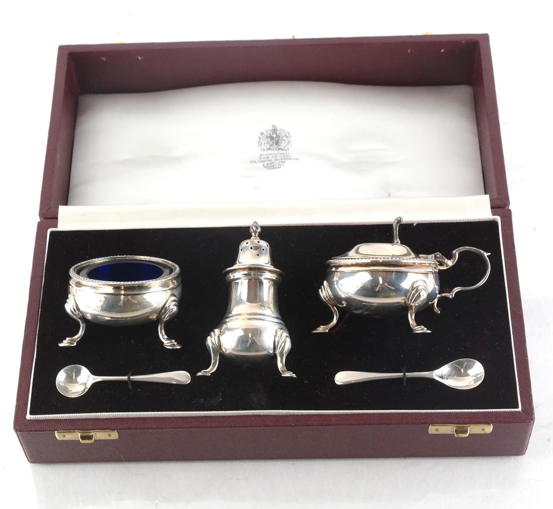 Sterling Silver Asprey Plc London Cruet - 2