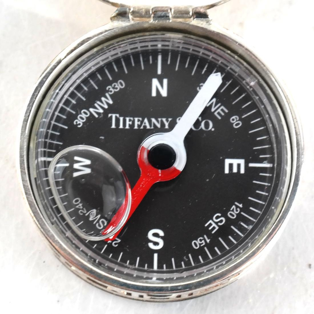 Sterling Silver 2 Compasses Tiffany & Co. - 3