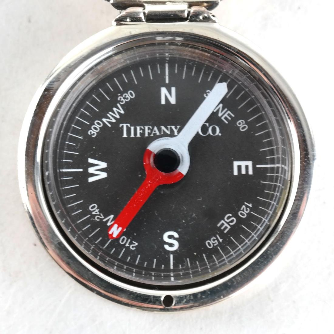 Sterling Silver 2 Compasses Tiffany & Co. - 4
