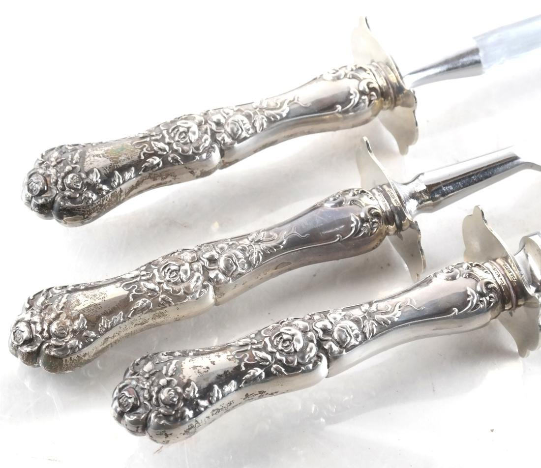 Four Silver Service Items - 3