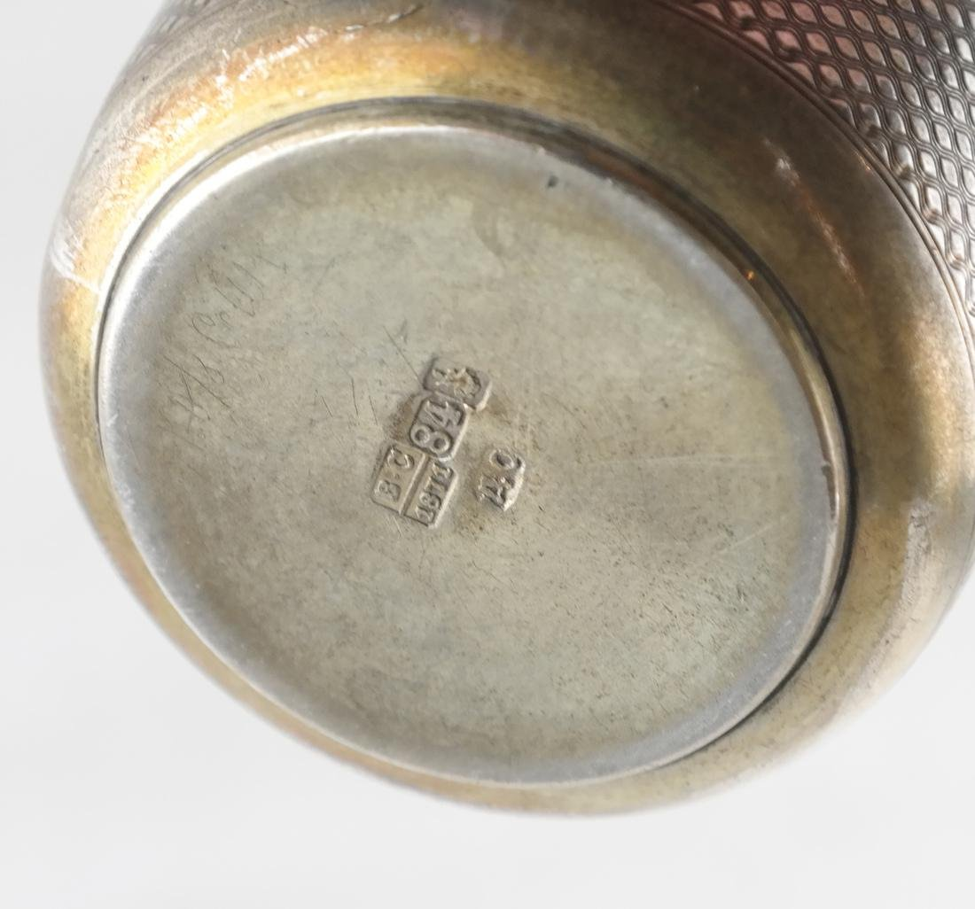 Sterling Silver Russian Cup - 4