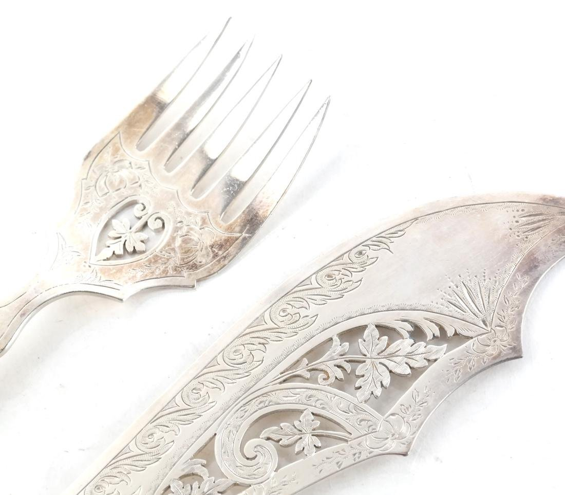 Two-Piece Victorian Serving Set - 3
