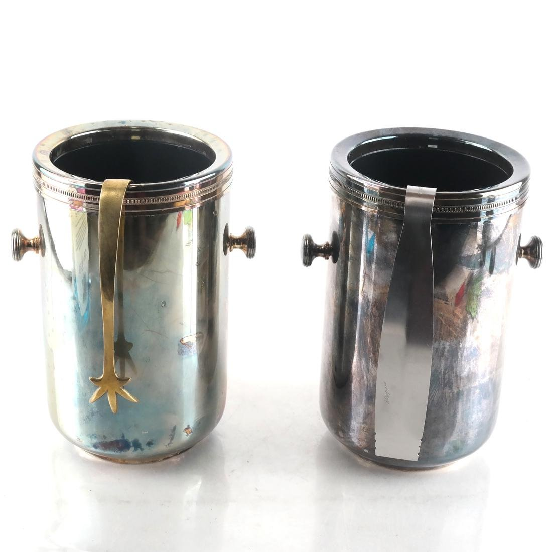 2 Silver-Plated Wine Coolers by Gorham
