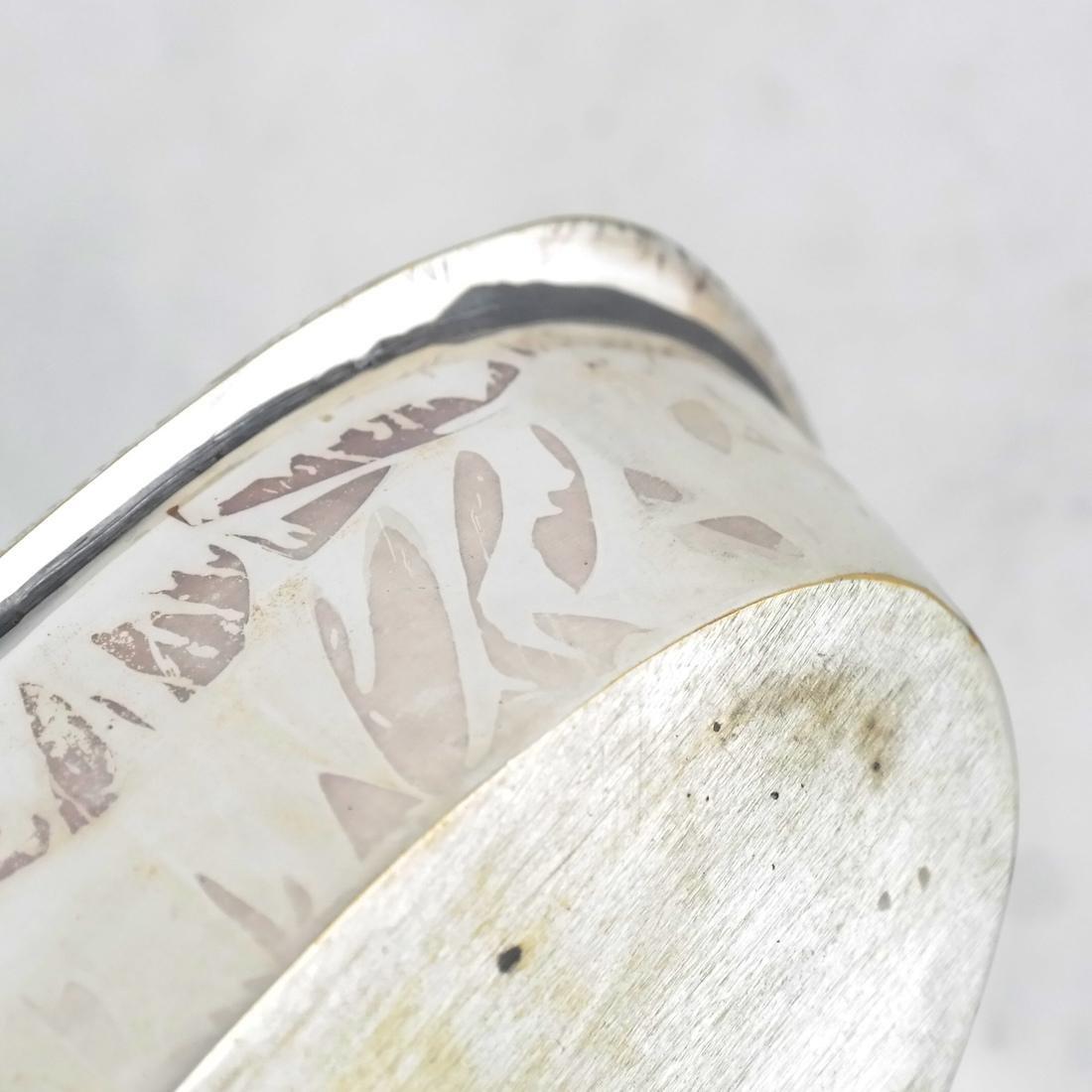 Silver-Plated Boat-Form Cruet - 3
