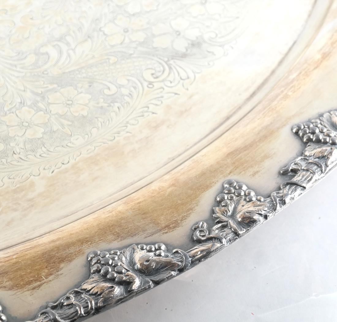 Two Silver-Plate Trays - 7