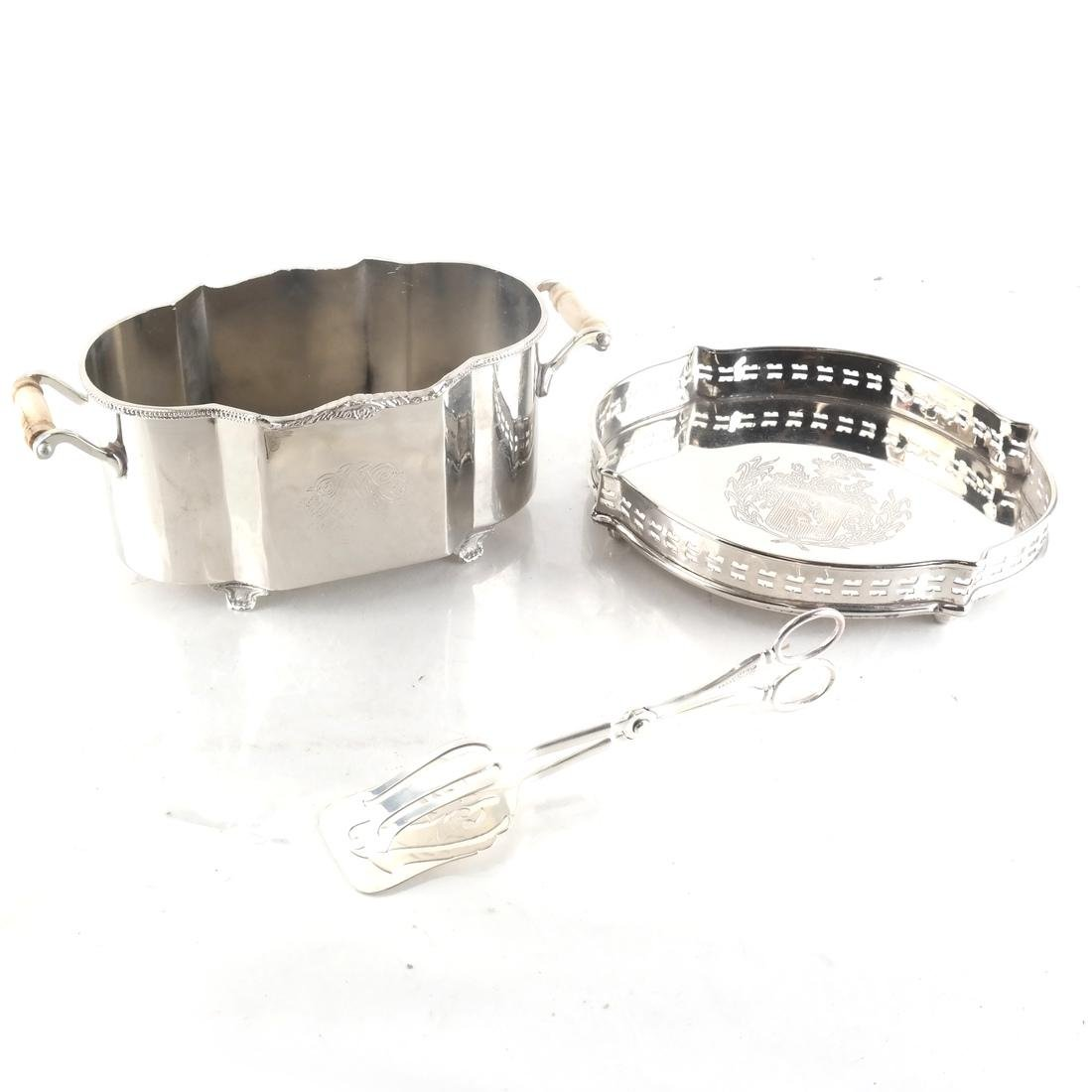 Five Silver-Plated Objects - 2