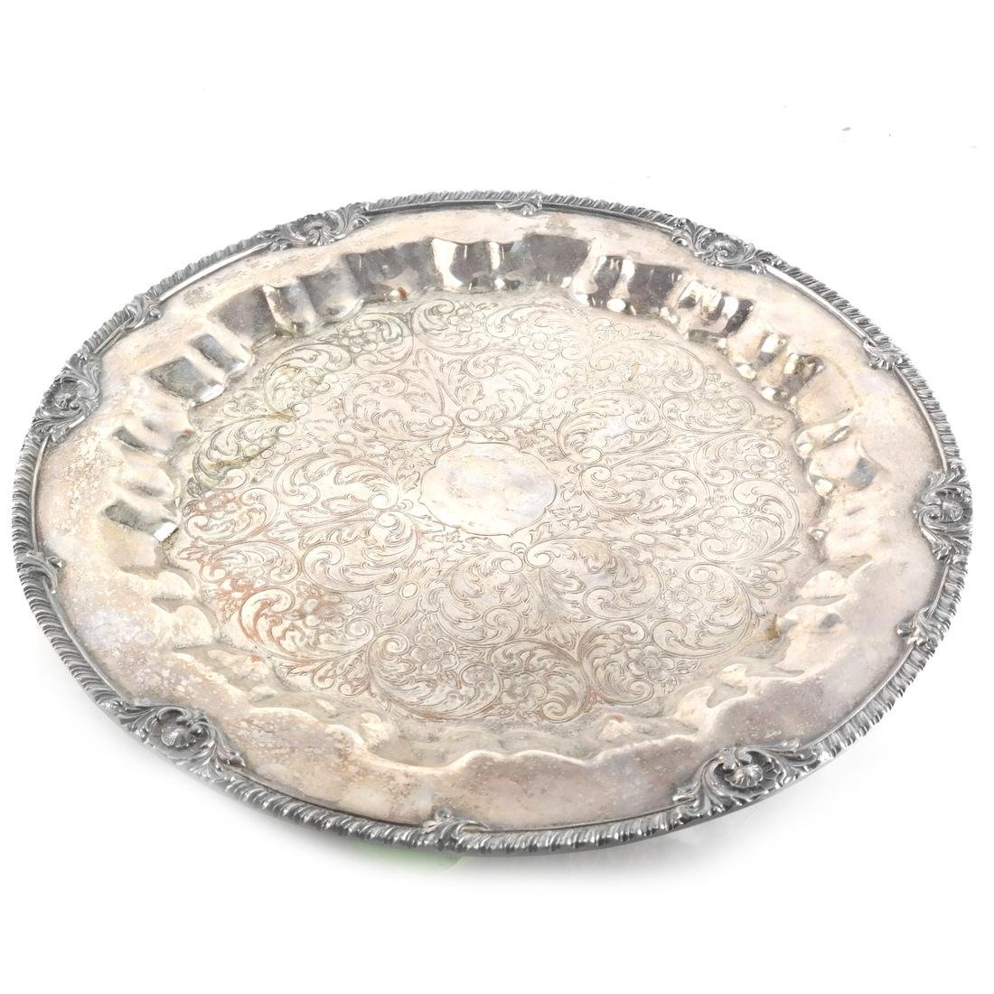 Five Silver-Plated Objects - 5
