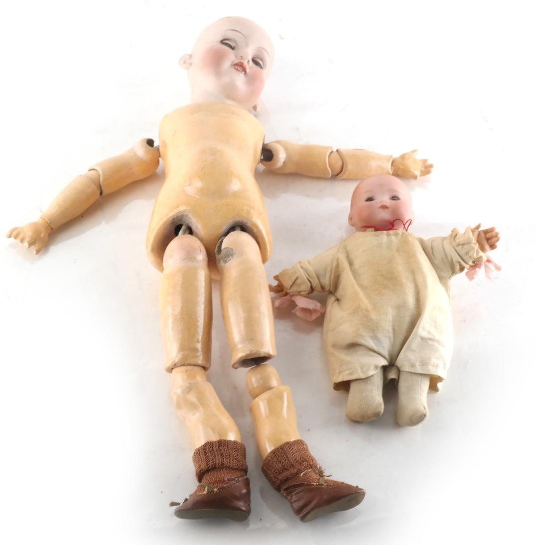 Two Armand Marseille Dolls