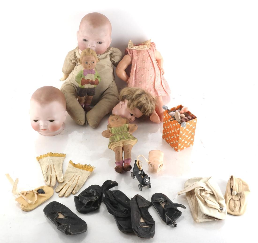 Dolls, Including Grace S. Putnam Parts
