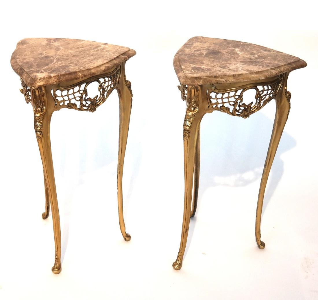 Pair of French Art Deco-Style Tables