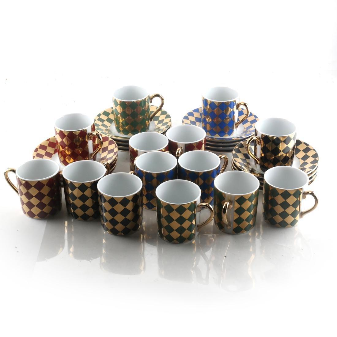30 Pcs Japanese Porcelain Dishes