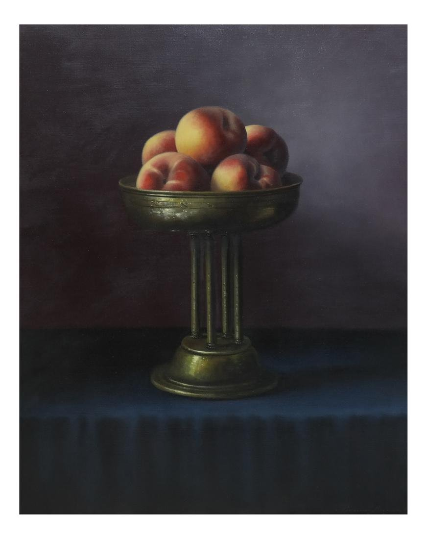 Brian Davies, Still Life - Oil on Canvas