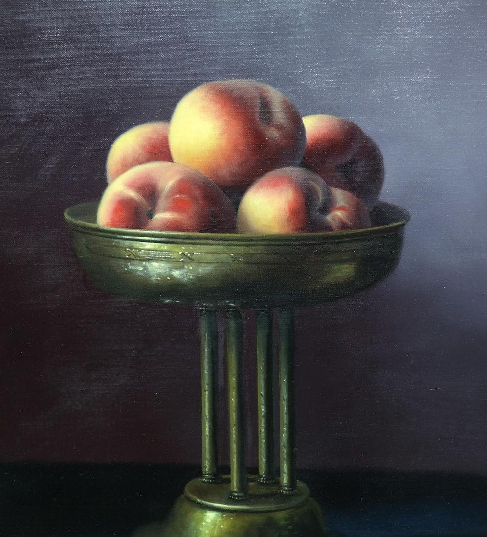 Brian Davies, Still Life - Oil on Canvas - 3