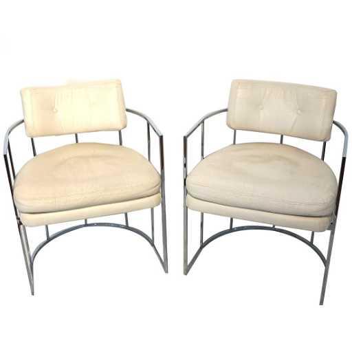 6 Milo Baughman For Thayer Coggin Vintage Chairs