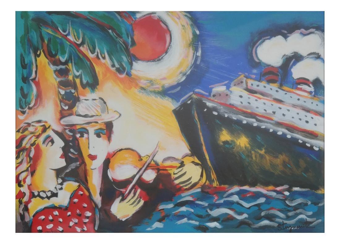 Zamy Steynovitz, Paradise - Serigraph