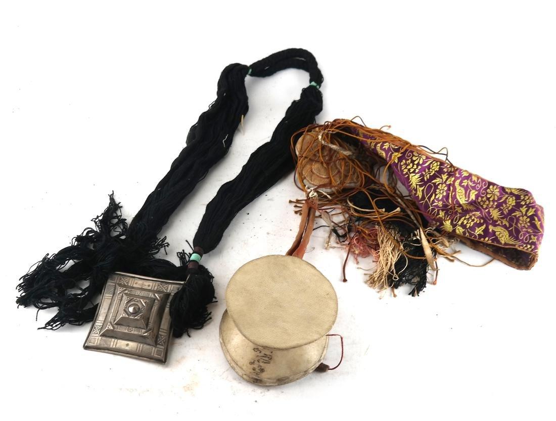 Asian Drum and Drumstick, Sash