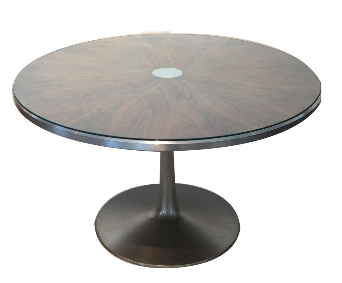 Mid-Century Eames-Style Round Table