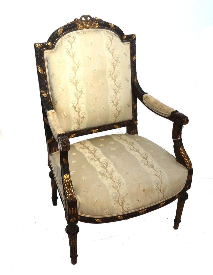 Louis XV-Style Bergere