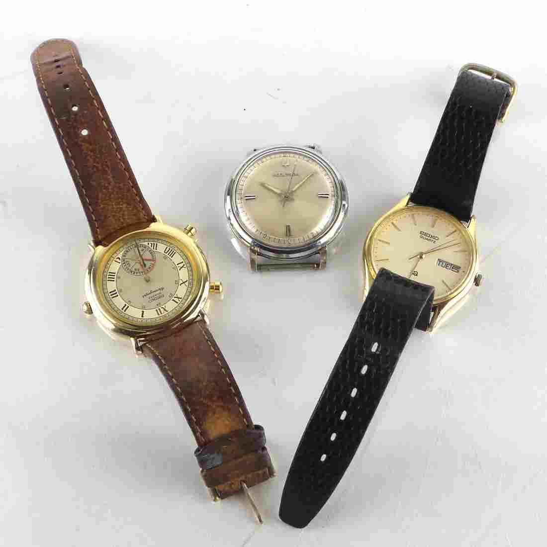 Seiko and Bulova Wrist Watches