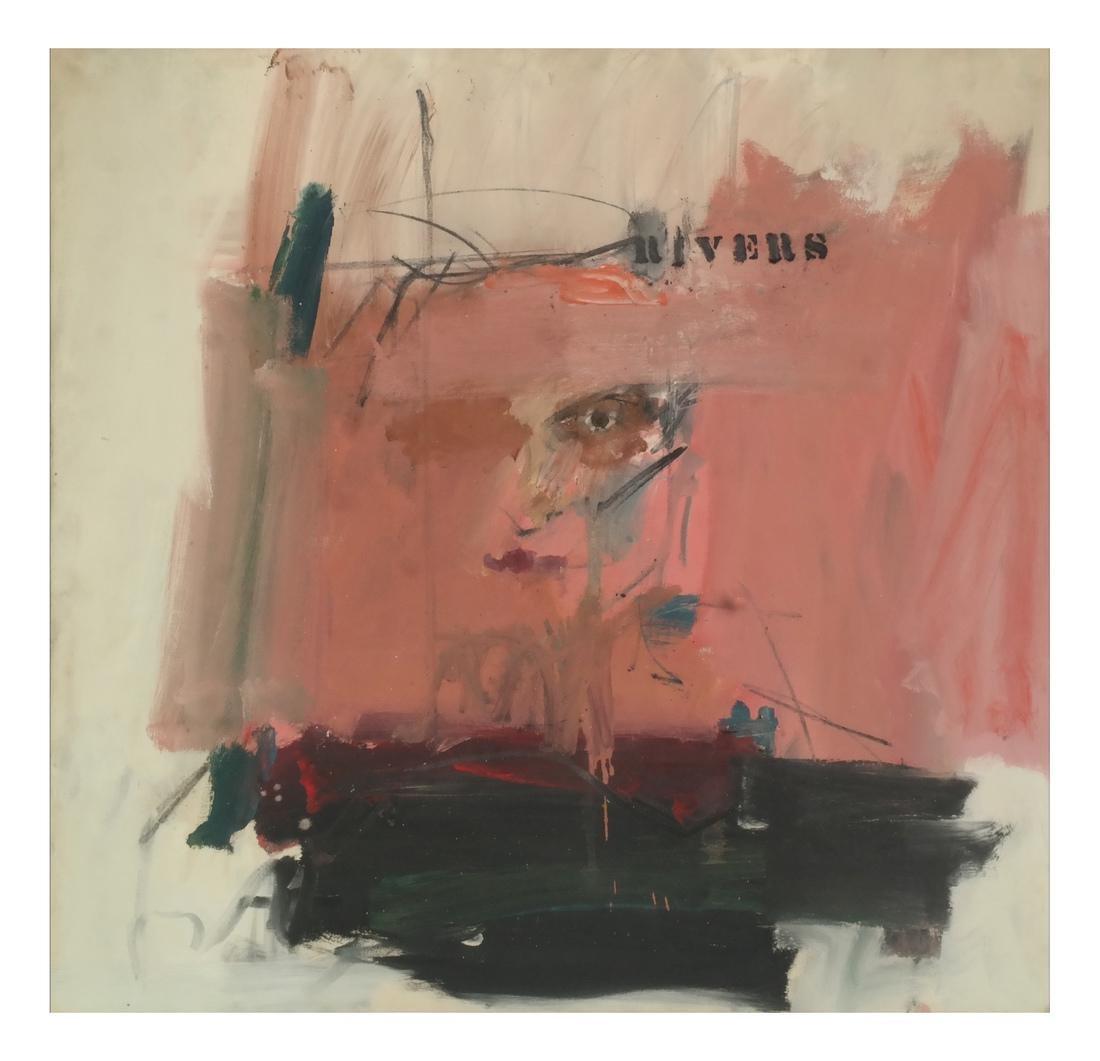 Larry Rivers, Self Portrait