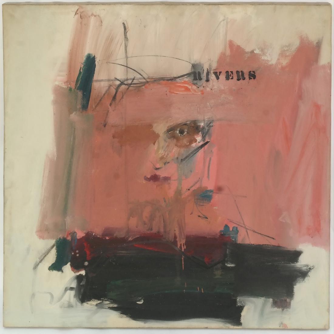 Larry Rivers, Self Portrait - 2