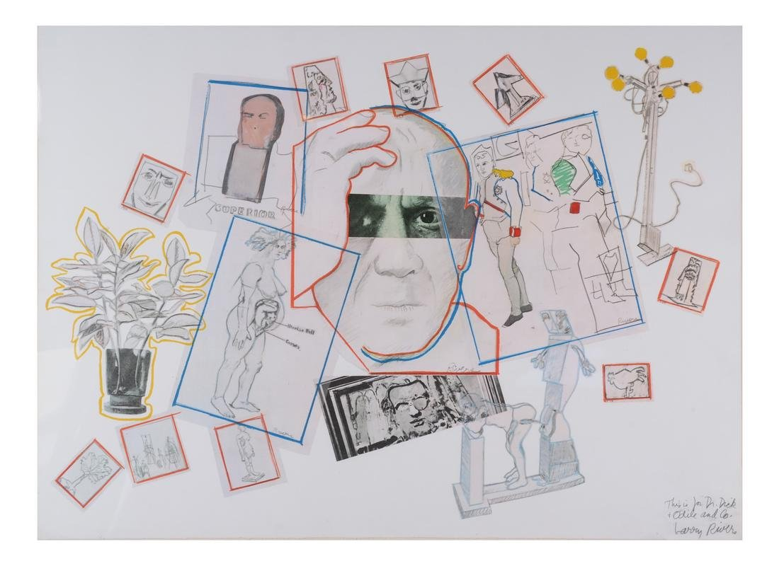 Larry Rivers, Homage to Picasso