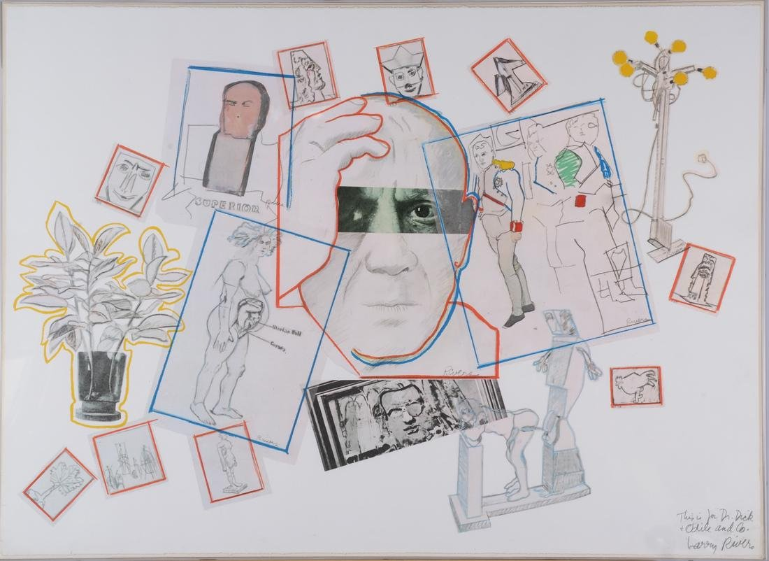 Larry Rivers, Homage to Picasso - 2