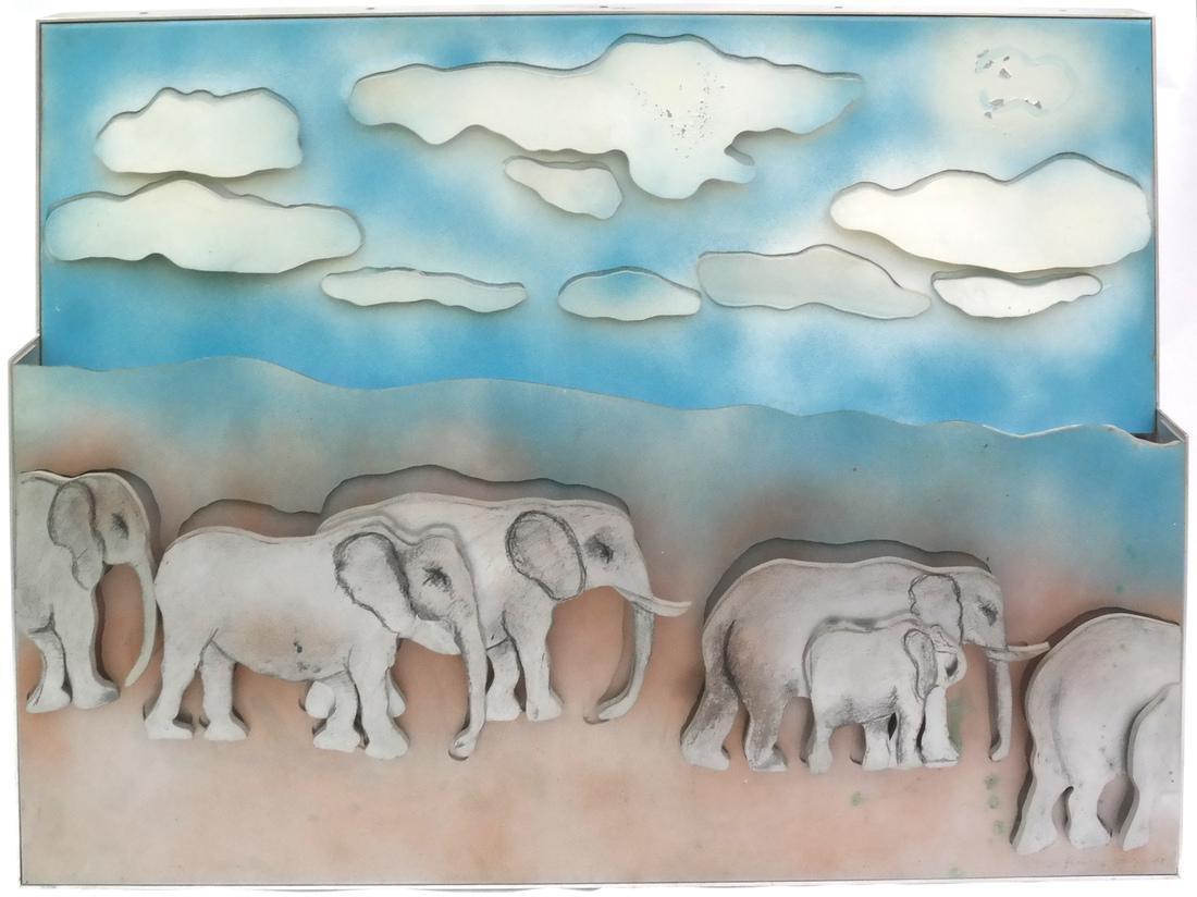 Larry Rivers, Herd of Elephants