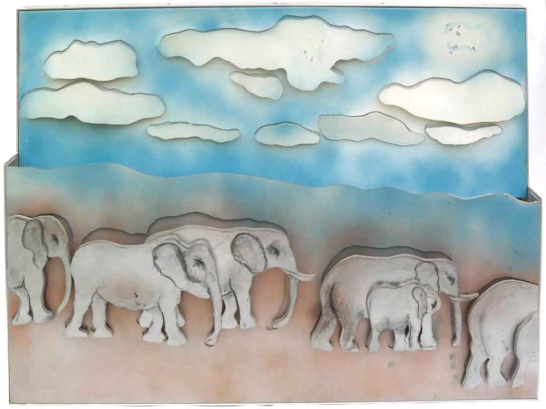 Larry Rivers, Herd of Elephants
