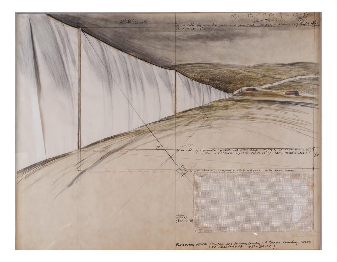 Christo, Running Fence