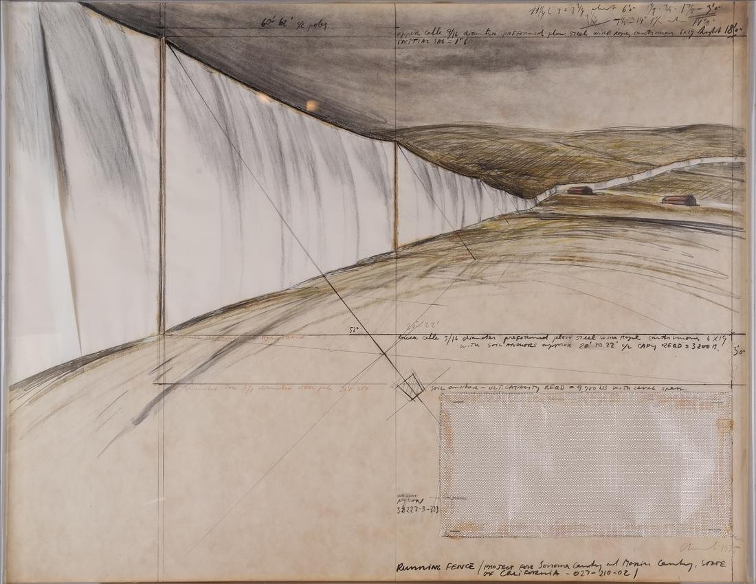 Christo, Running Fence - 2