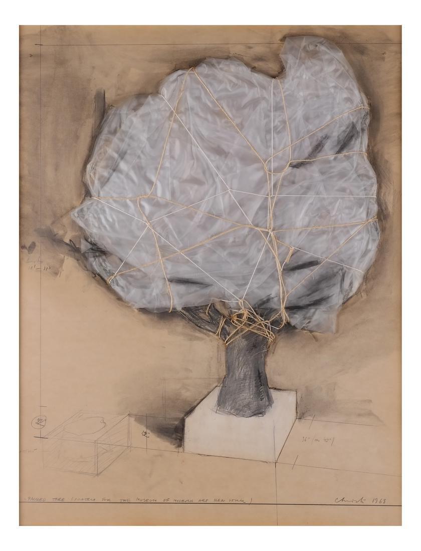 Christo, Wrapped Tree
