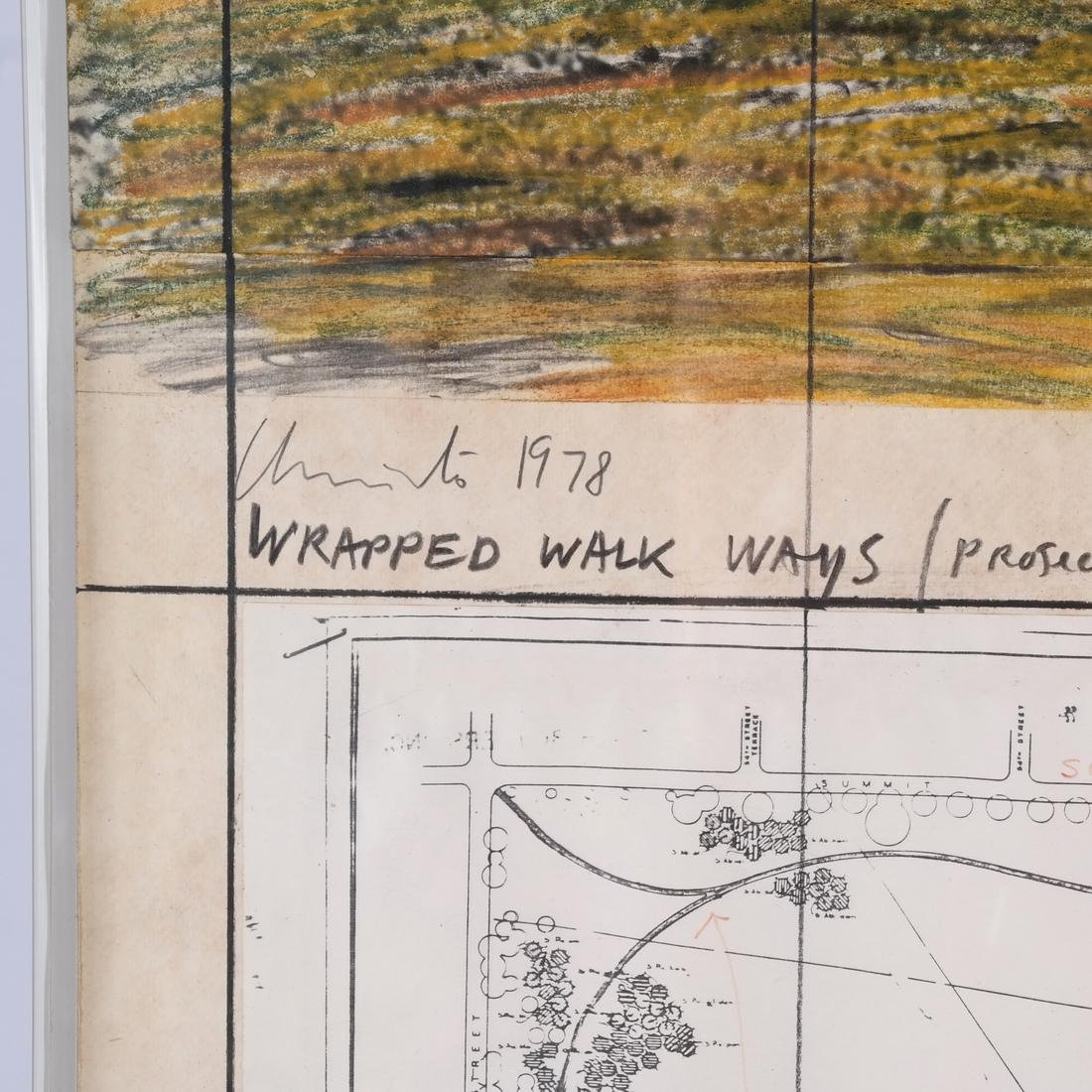 Christo, Wrapped Walkways - 3