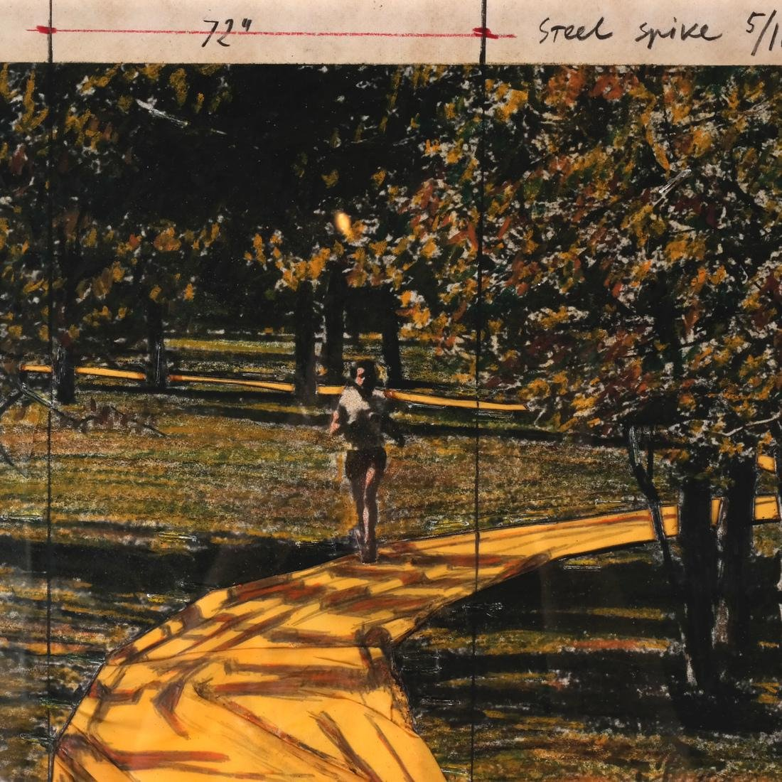 Christo, Wrapped Walkways - 9