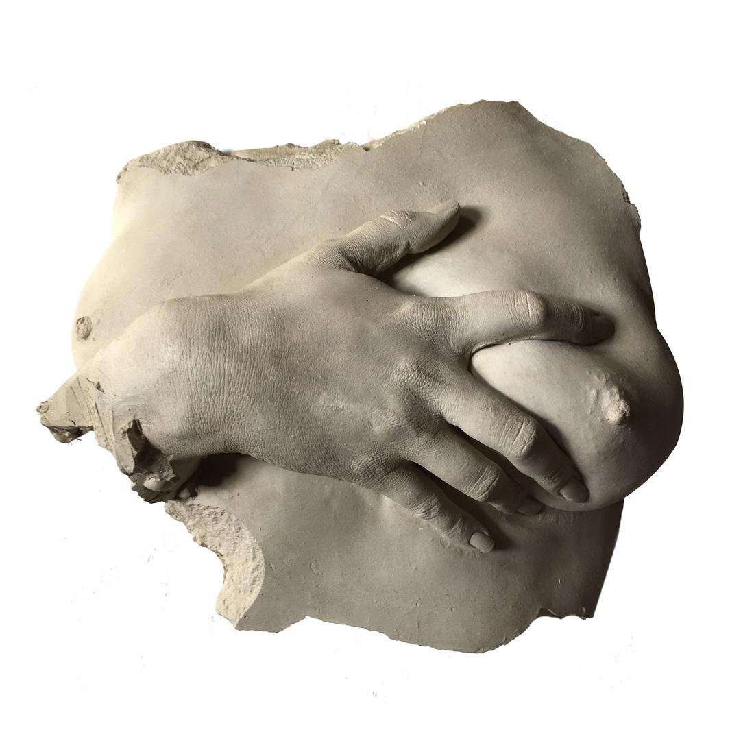 Ben Bianchi, Woman's Hand on Breast
