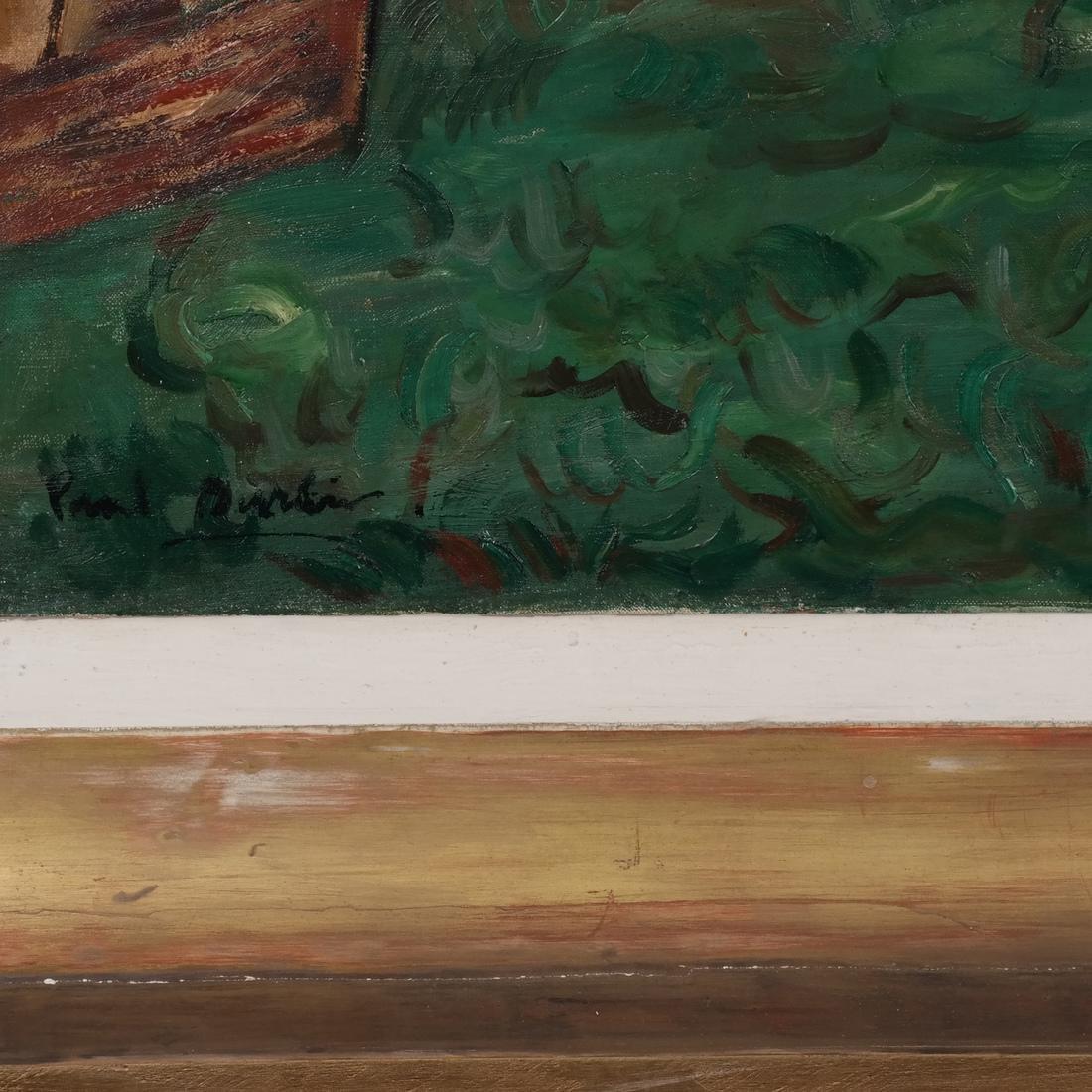 Paul Burlin, Untitled (Village on the Sea) - 3