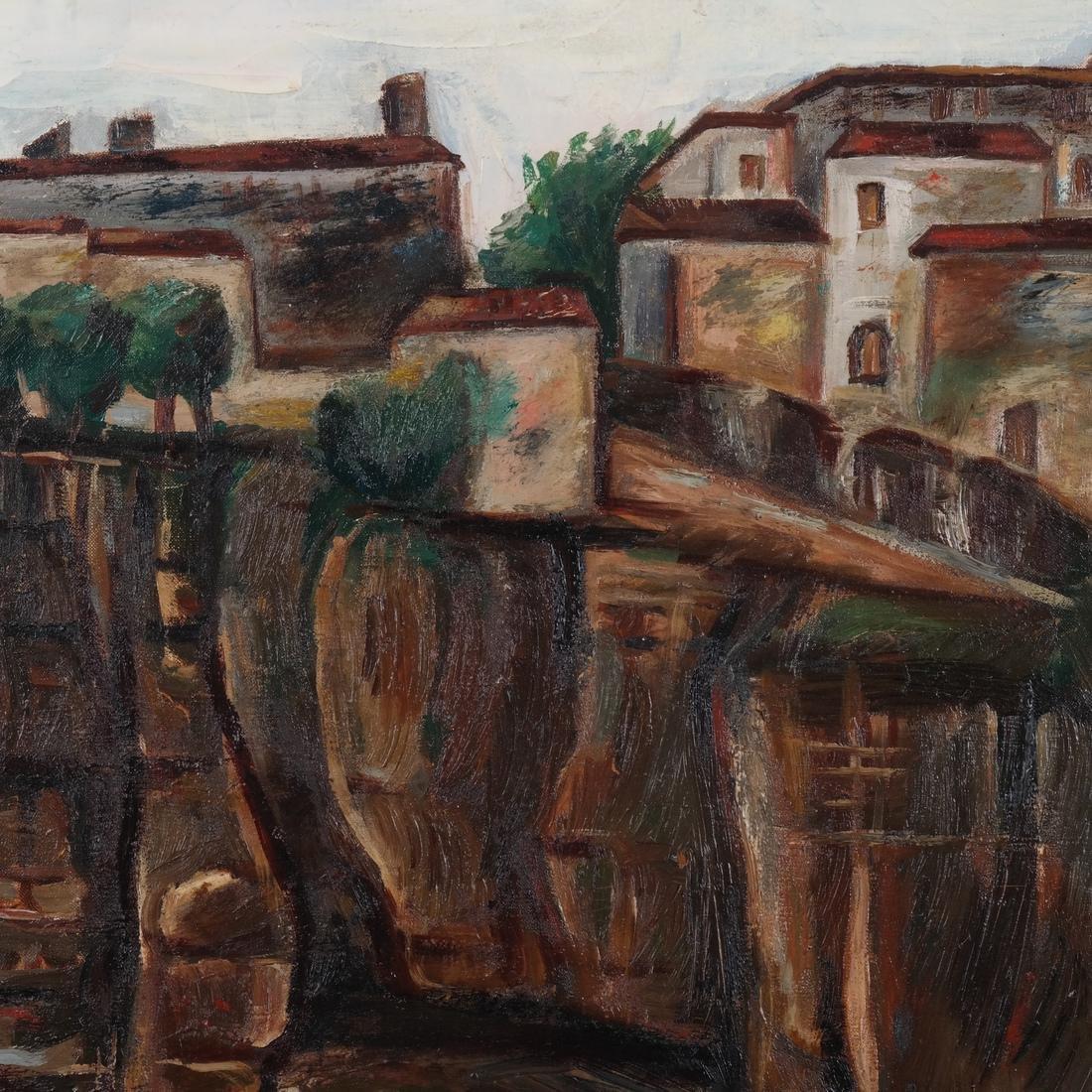 Paul Burlin, Untitled (Village on the Sea) - 4