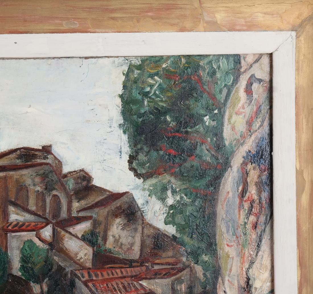 Paul Burlin, Untitled (Village on the Sea) - 6