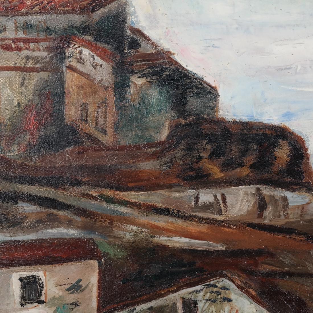 Paul Burlin, Untitled (Village on the Sea) - 7