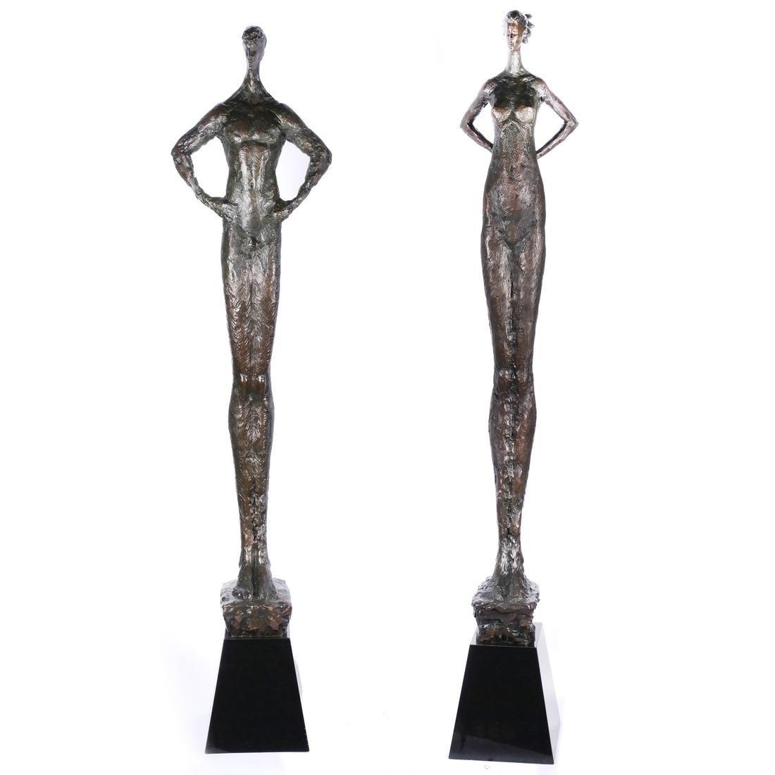 Tom Corbin, Two Sculptures