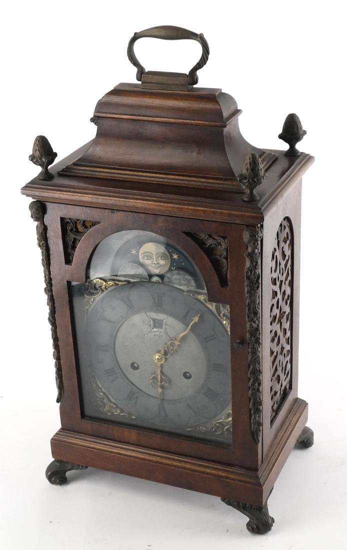 Continental Wood Mantle Clock